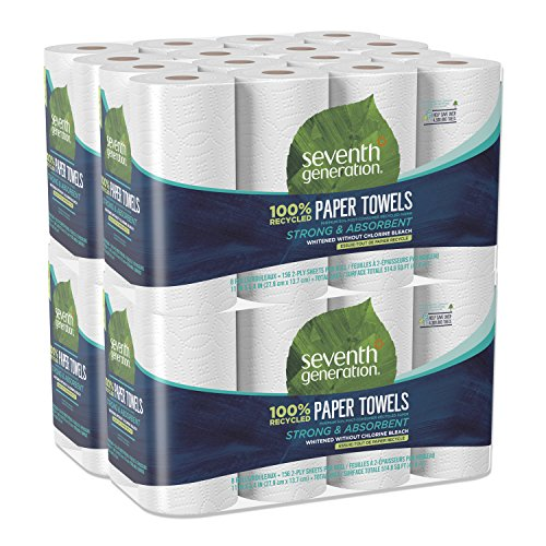 Seventh Generation Paper Towels, 100% Recycled Paper, 2-ply, 8 Count (Pack of ()