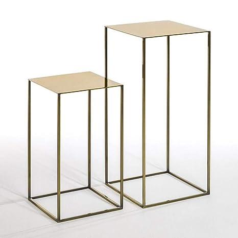 Amazon.com: ZHFHA Nesting Mesa de mesa pequeña, mesa de café ...