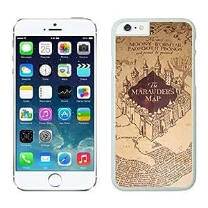 NEW DIY Unique Designed Case For iphone 6 plus marauders map iphone 6 plus White 5.5 TPU inch Phone Case 269