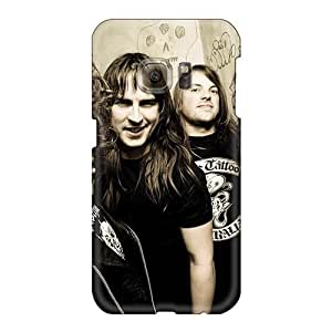 Samsung Galaxy S6 PJy8121xEnA Provide Private Custom High-definition 30 Seconds To Mars Band 3STM Pattern Shockproof Hard Cell-phone Case -KevinCormack