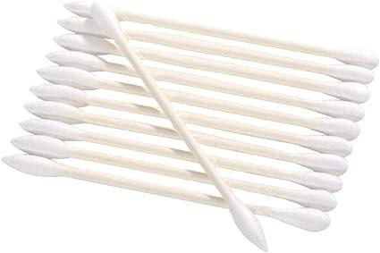 Tampone di Cotone Siliconico a Doppia Testa Tampone per Trucco da Viaggio Portatile con Custodia Tampone Lavabile 4 Pezzi Cotton Fioc Silicone Riutilizzabile 2 Tampone Cotone Riutilizzabile