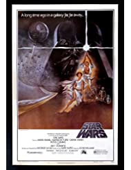 STAR WARS * CINEMASTERPIECES 77/21-0 HAIRY BELT VINTAGE 1980'S BOOTLEG MOVIE POSTER