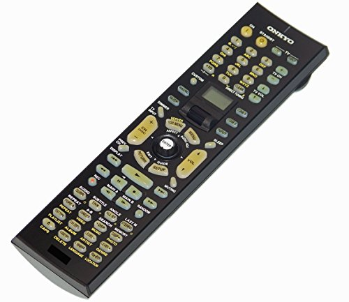 OEM Onkyo Remote Control Originally Shipped With: