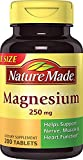 Nature Made Magnesium 250mg, 200 Tablets Review