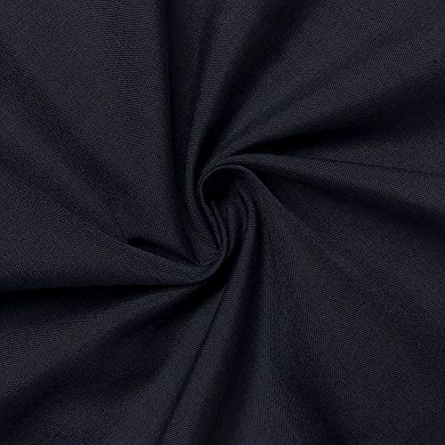 (Cotton Polyester Broadcloth Fabric Premium Apparel Quilting 45