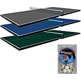 Beau Martin Kilpatrick Conversion Table Tennis Top For Pool Table   Blue, Green,  Or Grey