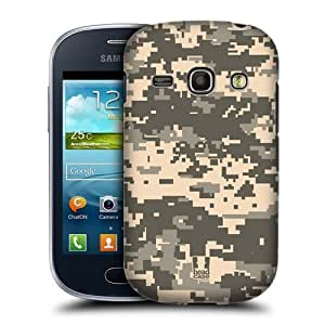 AIYAYA Samsung Case Designs Acu Military Camo Protective Snap-on Hard Back Case Cover for Samsung Galaxy Fame S6810