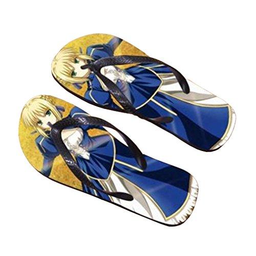 Bromeo Fate Zero Fate/stay Night Anime Unisex Flip Flops Chanclas 235