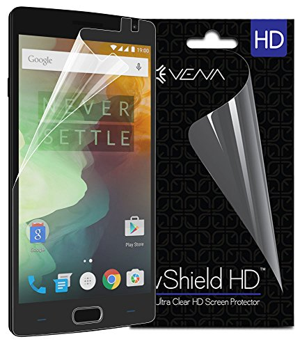 Vena OnePlus 2 Screen Protector (3 Pack) vShield [Ultra Clear HD] Shield with Lifetime Replacement Warranty for OnePlus 2 / OnePlus Two