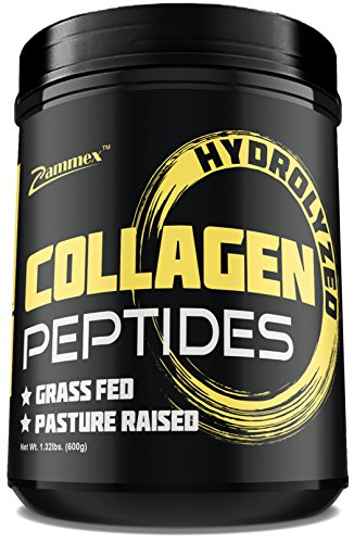 Premium Hydrolyzed Collagen Peptides(21oz) - Best ValueNon-GMO, Grass-Fed, Gluten-Free, Pasture Raised CattleUnflavored and Easy To Mix - 100% Pure Ultimate Collagen Powder
