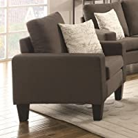 Coaster 504766 Home Furnishings Chair, Grey