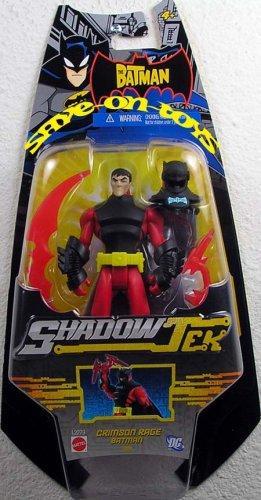 (The Batman Shadow Tek Action Figure Batman [Crimson Rage])