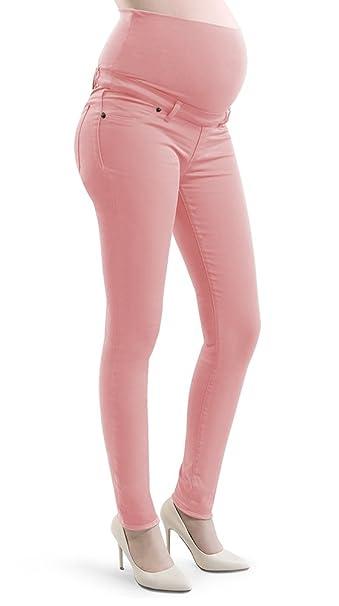 Pantalones de maternidad para Mujeres Embarazadas, tipo Jeggings skinny, en algodòn elàstico, ajustado
