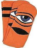 Toy Machine Sect Eye III Crew Socks Orange - Single Pair