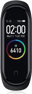 Xiaomi Mi Band 4 Pulsera de Actividad,Monitores de Actividad,Pantalla Pulsómetro Fitness Tracker, Smartwatch con 0.95''Pantalla AMOLED a Color ,con ios y Android,Negro