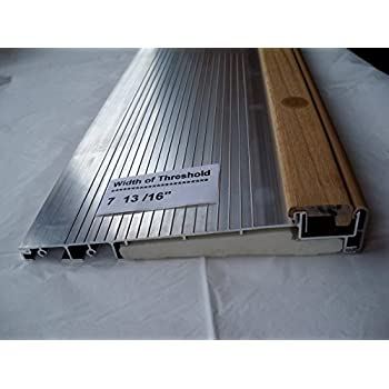 Exterior Inswing Threshold Hardwood Cap 7 1316 Wide X 36