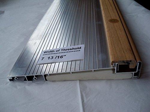 Exterior Inswing Threshold Hardwood Cap 7 13 16 Wide X 36 Leng