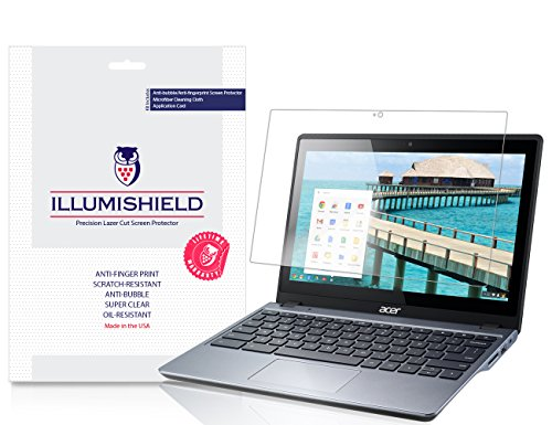 iLLumiShield - Acer Touchscreen Chromebook 11 C720P Screen P