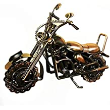 Fancinate 27x8x20CM Large Heavy Wired Ball Bearing Chainwheel Metal Motorcycle Collectible Sculpture