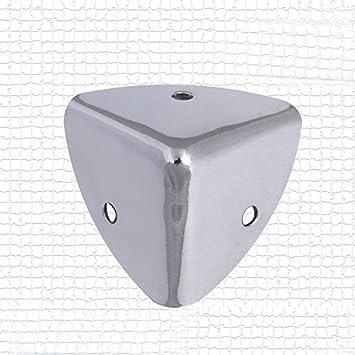 Amazon.com: 4Pcs 35mm ELIVE Silver Metal Speaker Case Box Cabinet ...