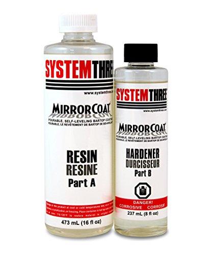 System Three Mirror Coat (Walnut Three Coats)