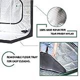 """MELONFARM Grow Tent 96""""x48""""x80''Reflective 600D"""