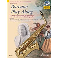 Partitions classique SCHOTT BAROQUE PLAY-ALONG - ALTO SAXOPHONE