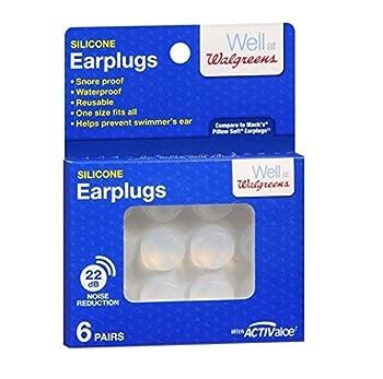 Walgreens Soft Silicone Swimming Earplugs