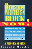 Book Cover for Break Writer's Block Now!