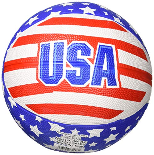 Patriotic USA Mini Basketball (1 pc) B003AC9A0Q