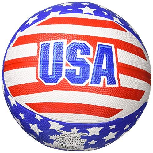(Rhode Island Novelty Patriotic USA Mini Basketball (1 pc) )
