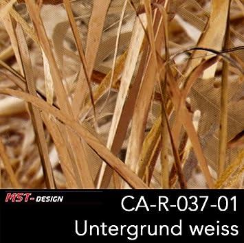 Mst Design Wassertransferdruck Wtd Camouflage Schilf Schilfblätter Braun Ca R 037 01 1 M 50 Cm Breite Film Wassertransferdruckfilm Wtp Water Transfer Printing Hydrographics Auto