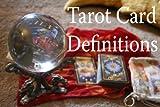 Tarot Card Definitions