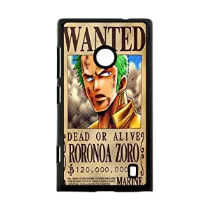 one piece wanted dead or alive luffy zoro robin nami Custom Case for Nokia Lumia 520