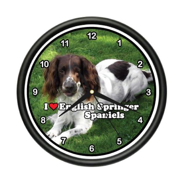 English Springer Spaniel Wall Clock Dog pet Dogs Gift 1