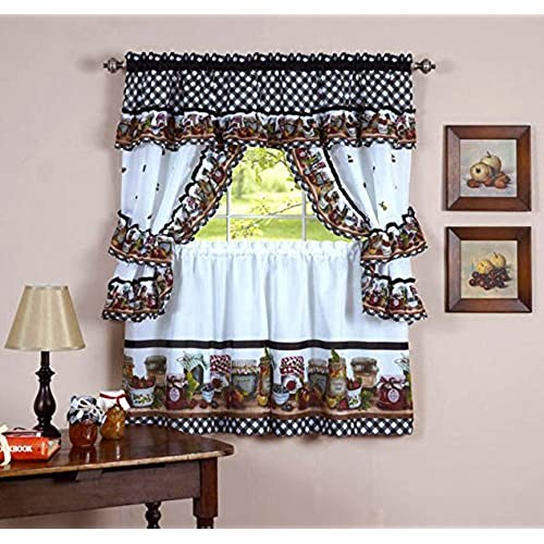 valances valance cinnabar x w curtain kitchen como lined scalloped large stylemaster