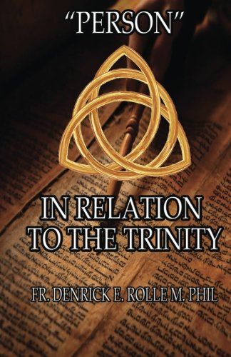 """Person"" In Relation to The Trinity pdf"