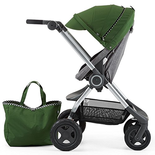 Stokke Scoot Stroller Racing Kit, Green