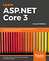 Learn ASP.NET Core 3, 2nd Edition Front Cover