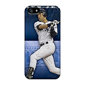 Shock Absorption Hard Phone Case For Iphone 5/5s With Unique Design Attractive New York Yankees Series KellyLast