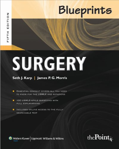 Blueprints Surgery (Blueprints Series)