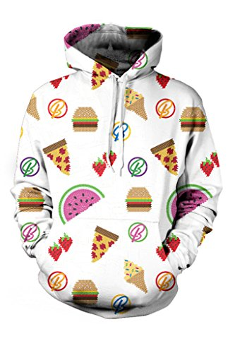 bodycon4u-womens-emoji-pattern-graphic-printed-soft-fleece-sweatshirt-hoodie-l-white