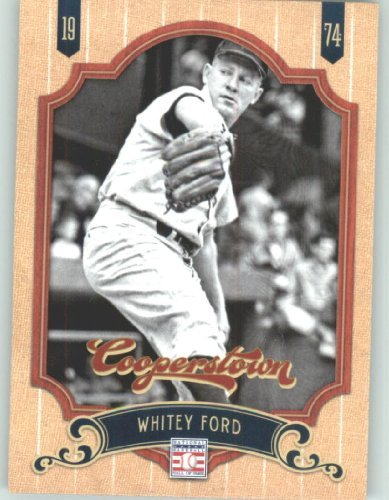 Whitey Ford Baseball Card (2012 Panini Cooperstown Baseball Card #86 Whitey Ford - New York Yankees (Legend / Hall of Fame / HOF) MLB Trading Cards)
