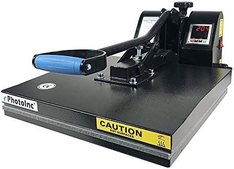 Ephotoinc Digital T Shirt Heat Press Machine Industrial Quality Printing Press Eph15blk Amazon Ca Home Kitchen