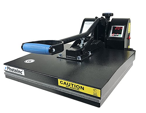 ePhotoInc Digital T Shirt Heat Press Machine Industrial Quality Printing Press EPH15BLK by ePhotoinc