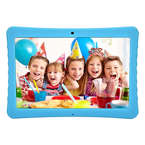 BENEVE 10.1 Inch 1080p Full HD IPS Display Android Tablet, 2GB+32 GB Big Storage, Android 7.0, Dual Camera 2MP+ 5MP, Bluetooth and WiFi, Kid-Proof Drop Resistance Case and Parent Control App