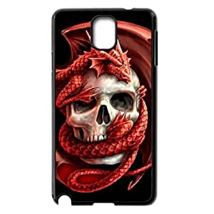 ALICASE Diy Case Red Dragon For samsung galaxy note 3 N9000 [Pattern-1]