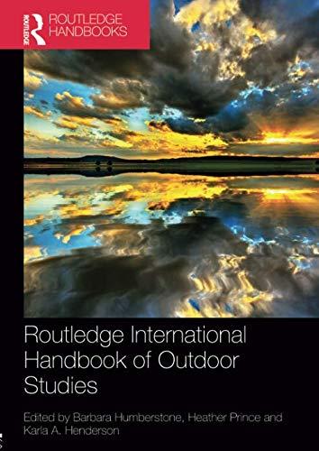 - Routledge International Handbook of Outdoor Studies (Routledge International Handbooks)