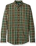 G.H. Bass & Co. Men's Madawaska Trail Long Sleeve Shirt, Trekking Green, X-Large