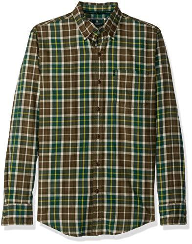 G.H. Bass & Co. Men's Madawaska Trail Long Sleeve Shirt, Tre